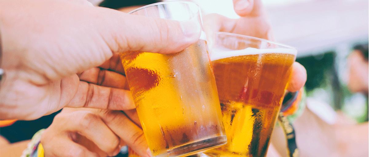cerveza, digestión y gases