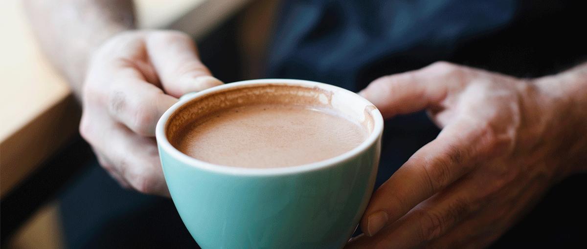 receta chocolate caliente